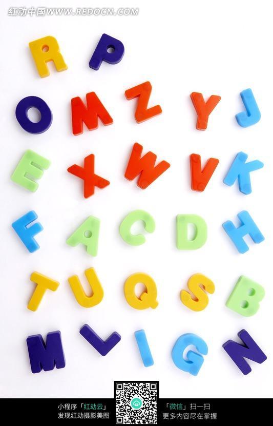 英文立体字母单词素材图片(编号:659639)
