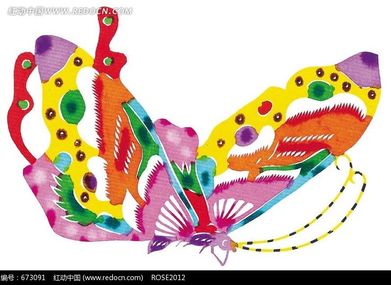 中国剪纸蝴蝶图案大全 蝴蝶剪纸图案大全 蝴蝶简单剪纸图案大全