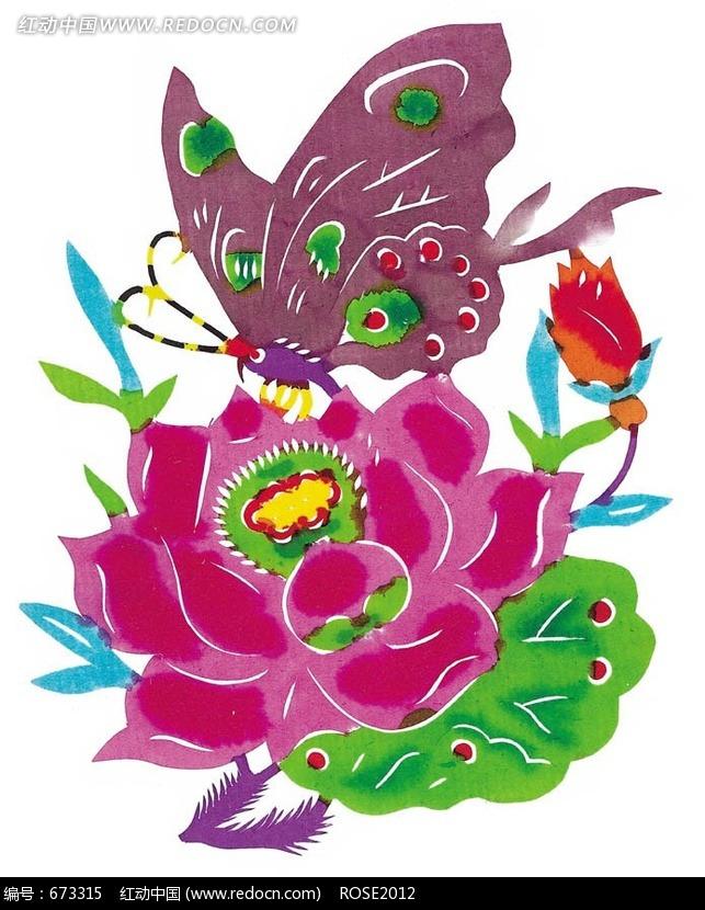 简单蝴蝶剪纸图案 蝴蝶简单剪纸图案大全 窗花剪纸蝴蝶图案