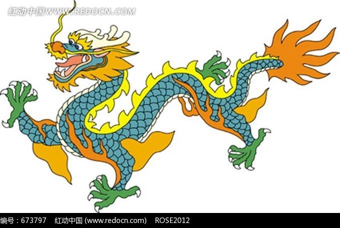 中国龙简笔画图片6张第6张