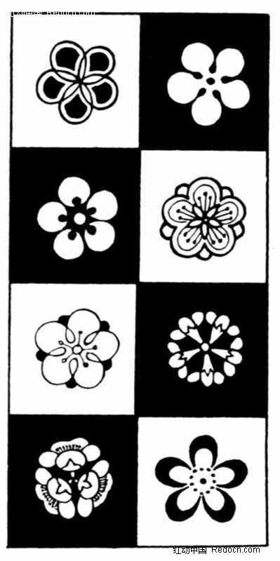 简笔画花朵花纹图片-花纹|花边-黑板报花边简笔画图片大全 航海元素简