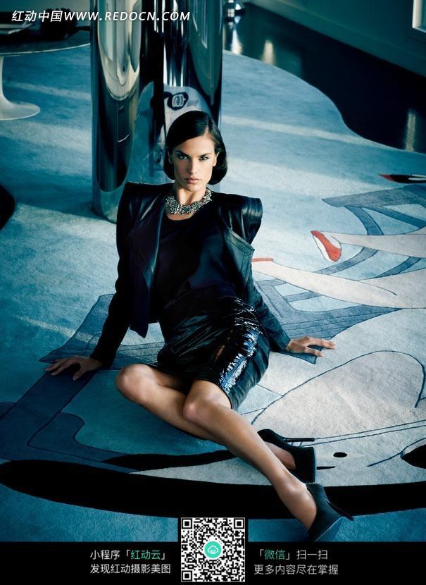 美女模特人像摄影视觉女士时尚外国美女欧美美女服装