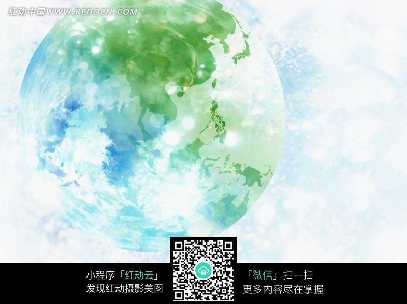 地球图画 地球图画大全大图 保护地球图画