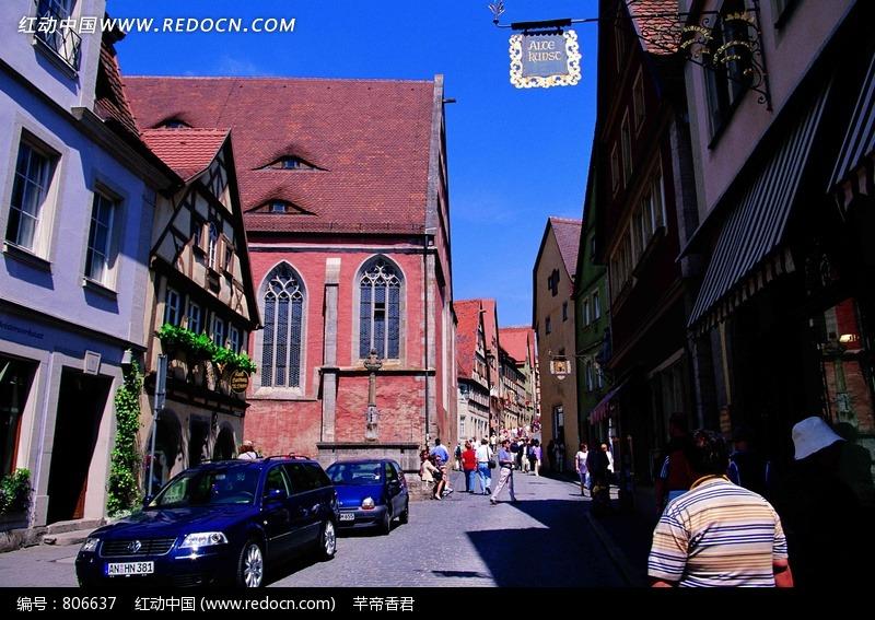 欧洲的城市街景图片图片