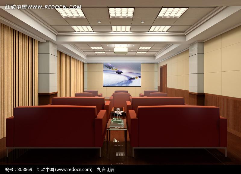 电影厅效果图 交换空间装修效果图 3d电影效果图高清图片