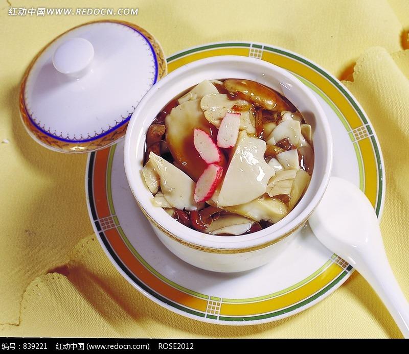 野山菌三鲜汤设计图片