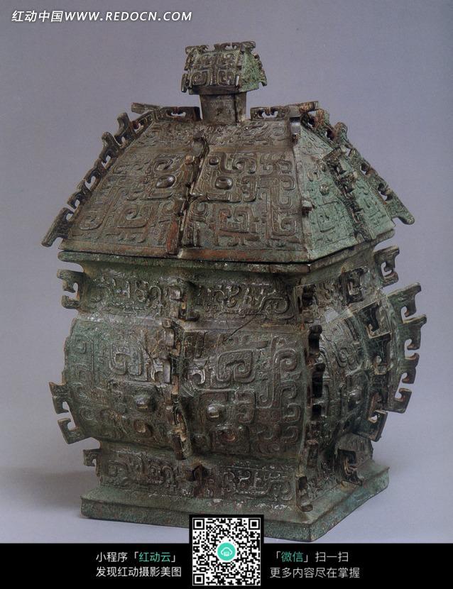 古代盛酒器方彝设计图片