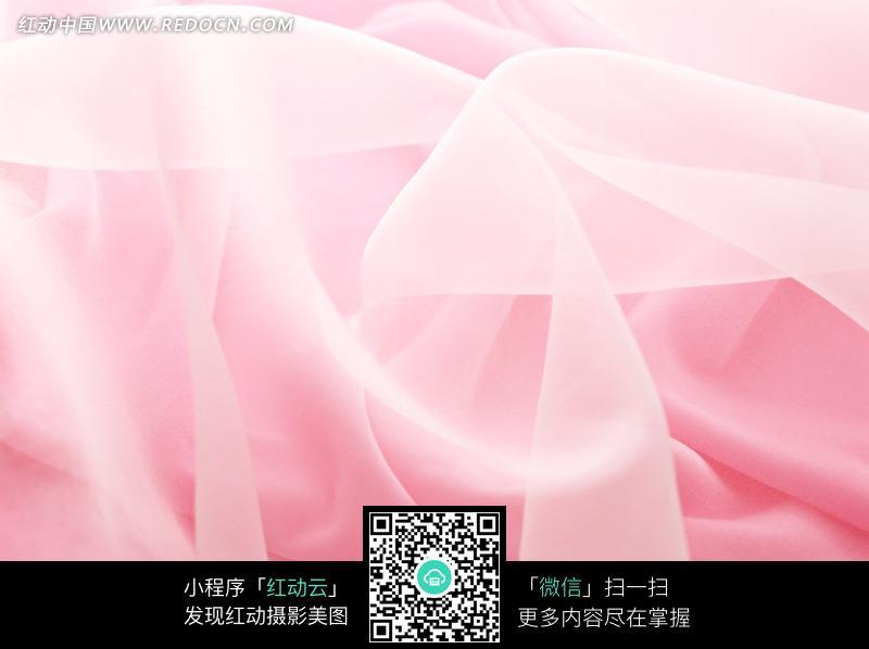 粉色绸缎上的白色半透明薄纱图片(编号:850873)_底纹图片
