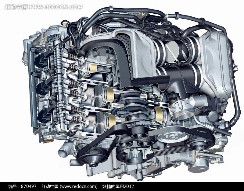 V8 Engine Animation How A V8 Engine Works ...