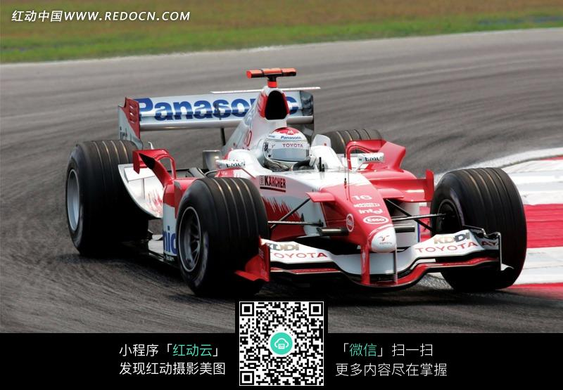 弯道上的丰田f1赛车设计图片高清图片