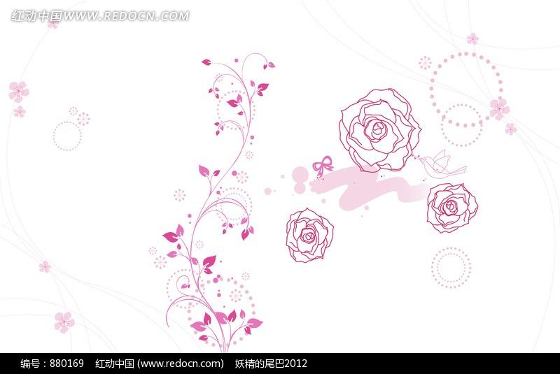 玫瑰花手抄报 图片合集图片