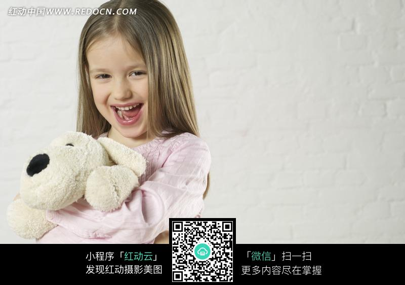 大笑的长发小女孩图片图片编号:898517 日常