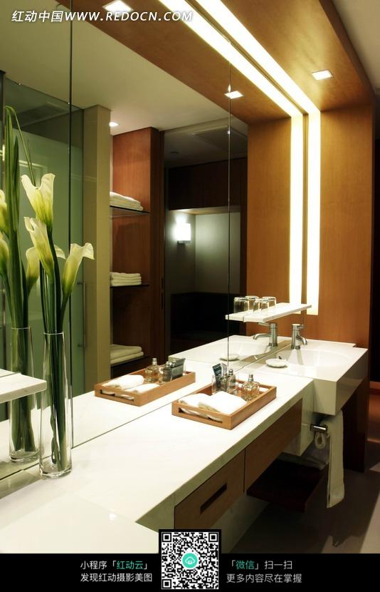 酒店洗手间设计设计图片 高清图片
