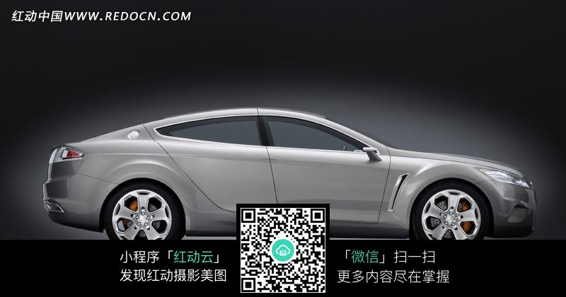 车侧面_英菲尼迪Q50EauRouge高性能版概念车侧面图