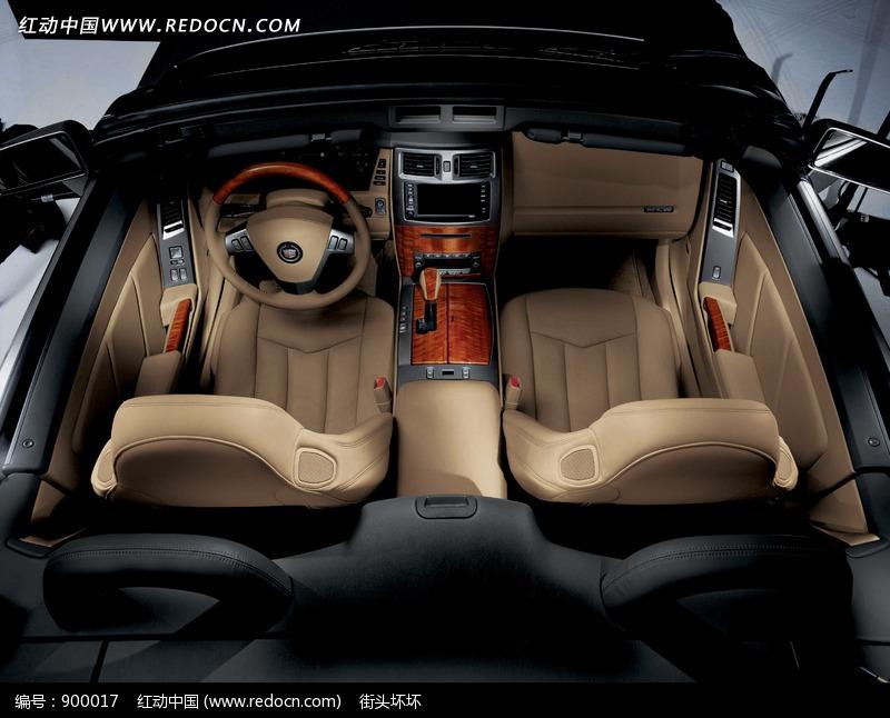 凯迪拉克SRX汽车驾驶座俯视图图片 编号 900017 交通工具 现代科技 高清图片
