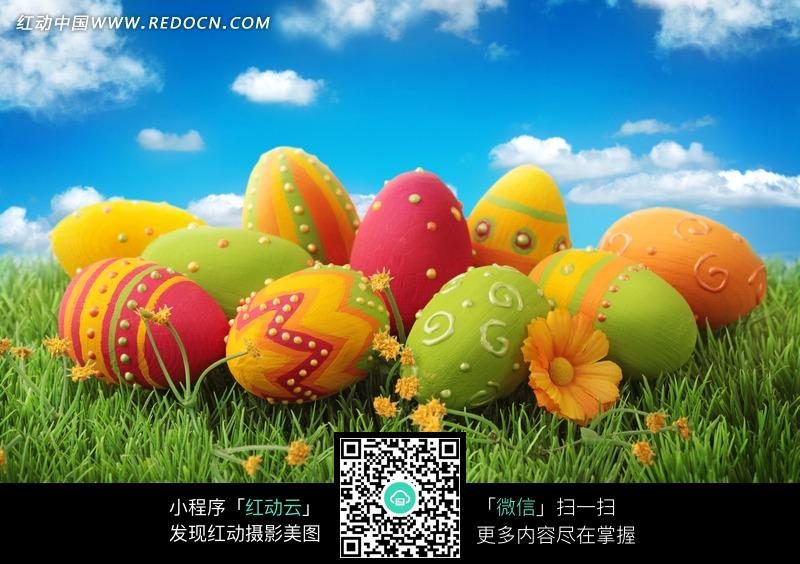 复活节庆典彩蛋图片 [图片.]