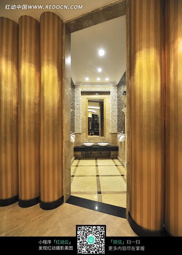 豪华酒店洗手间图片 环境图片 1001859 高清图片