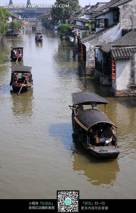 嘉兴 西塘古镇 水乡风情 设计图片