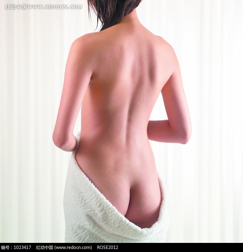 女人背部美女后背女性背部女人后背图片