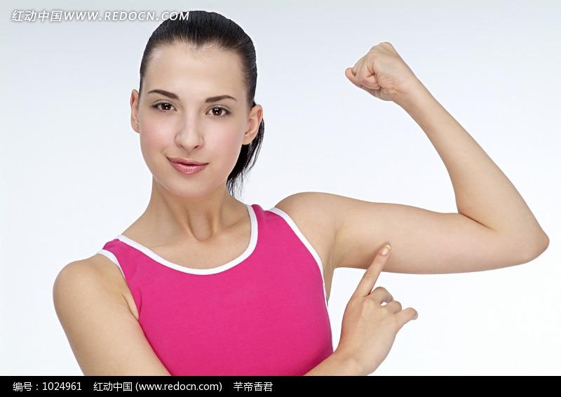 瘦手臂健身美女图片图片 人物图片素材|图片库