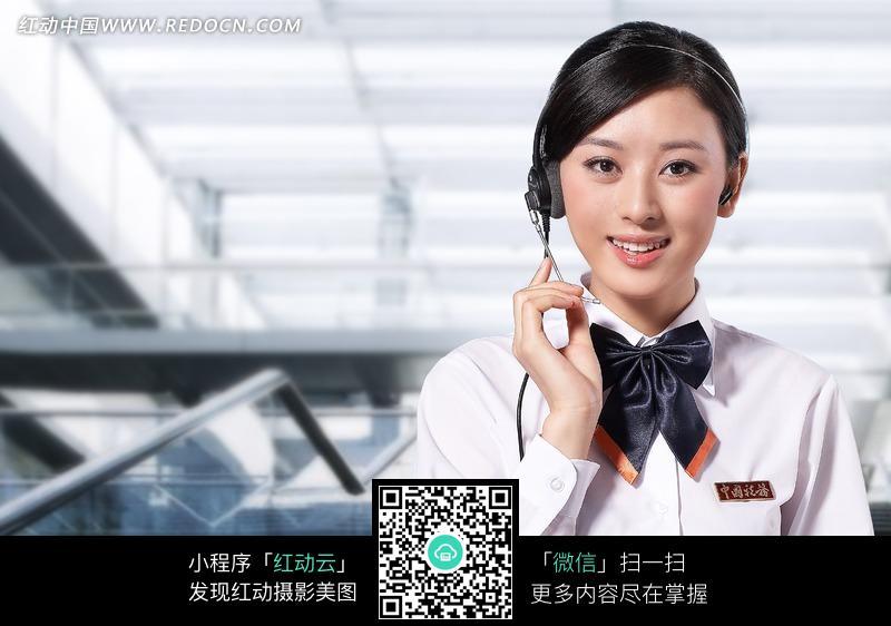 中国税务美女客服图片编号:1031851