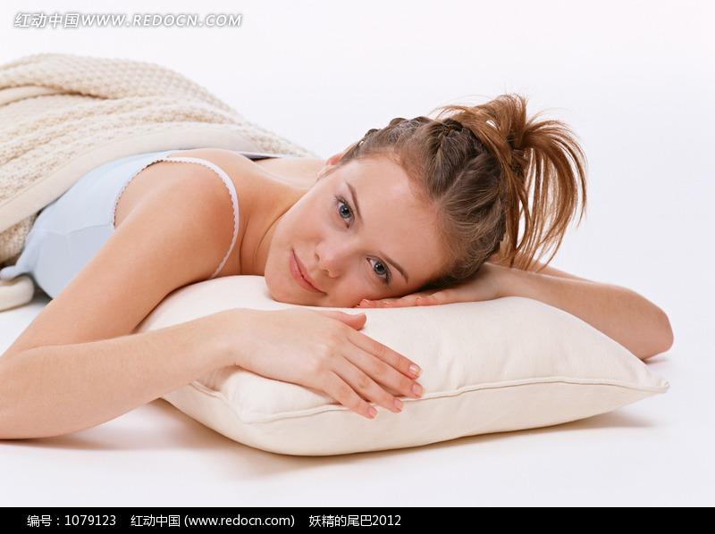 趴着睡觉的外国女人图片 人物图片素材|图片库|图库