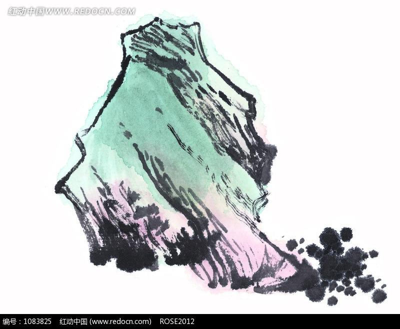 小山写意画图片 传统书画 吉祥图案 艺术图片下载 1083825