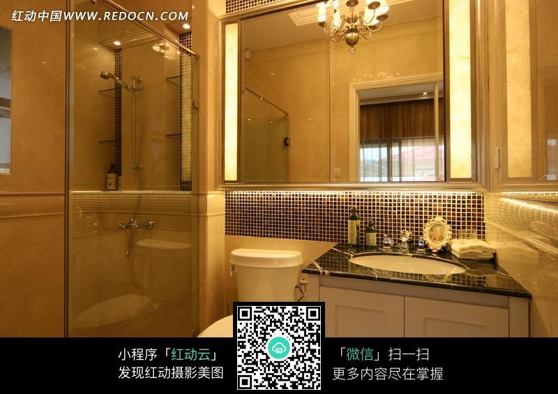 西荟城 四居室 120平米 客厅装修效果图 高清图片