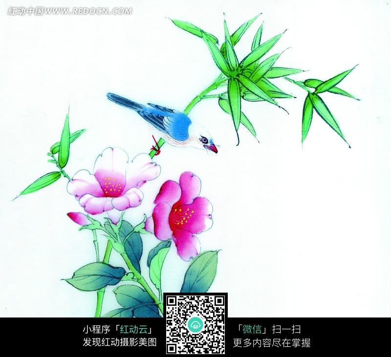 花鸟工笔画图片 编号 1096775 书画文字 文化艺术 图片素材