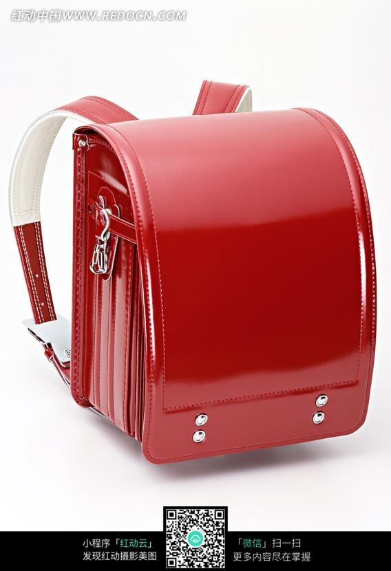 绚丽的红色皮质背包图片(编号:1144063)