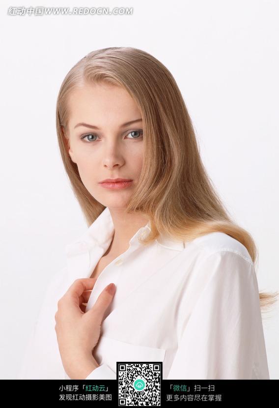 外国金发美女正面图片 人物图片素材|图片库|图库 竖