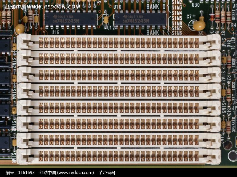 主板白色插槽设计图片 电脑主板插槽图解 华硕主板跳线接-华硕主图片