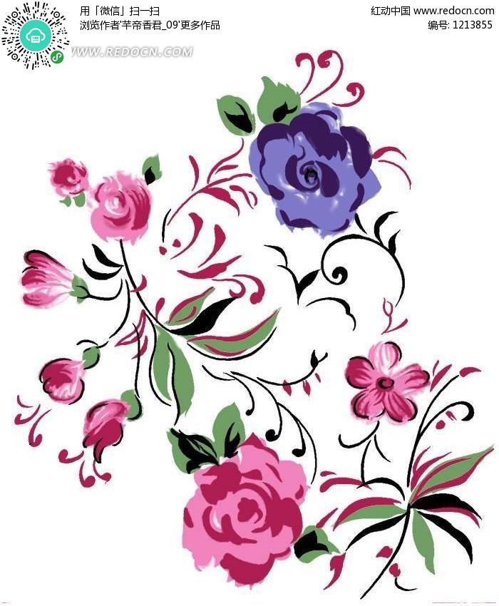 花瓣摆出的创意图案 花瓣衣服创意手绘 花瓣网创意雕塑