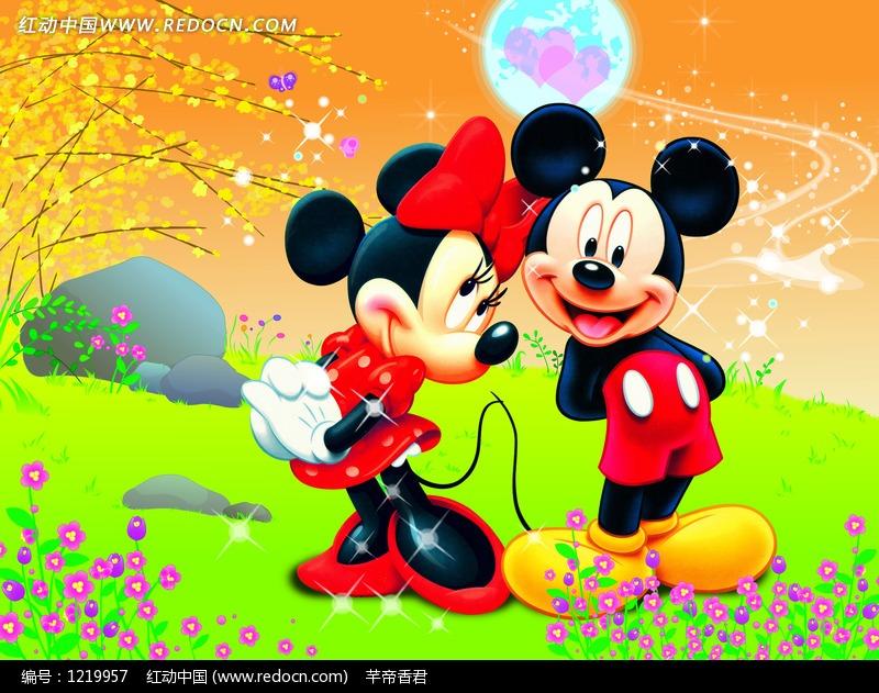米老鼠和米妮图画,米老鼠图画作品 儿童,米老鼠图画 带有颜色,米老鼠
