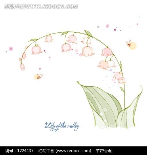 下载《手绘创意花朵叶子植物插画设计文件》[一星图片]-手绘创意花朵