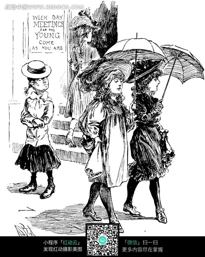 古代撑伞女子图片 唯美古风图片女子撑伞,白衣女子撑伞古风