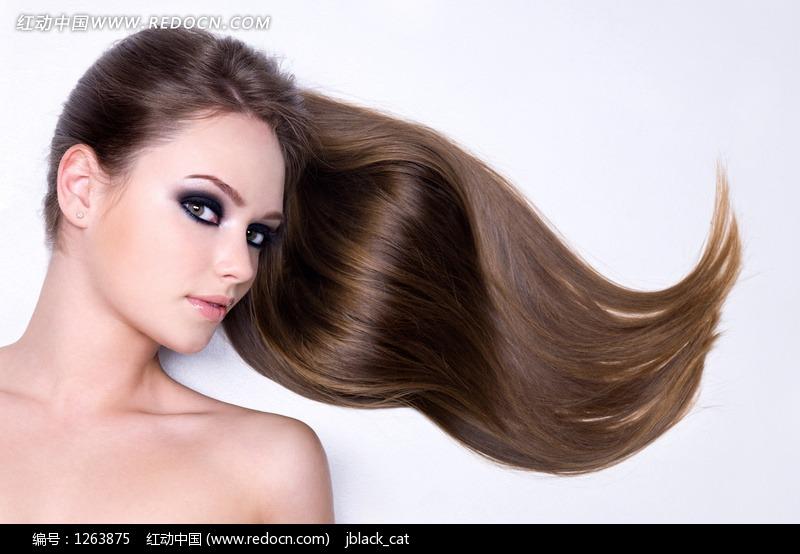 时尚长发美女图片编号:1263875