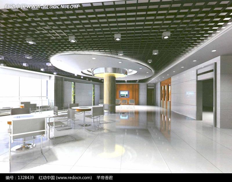售楼 处 营业 服务 大厅 效果图 3d模型下载 3d模高清图片