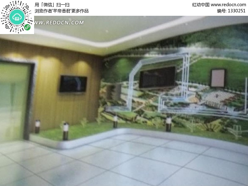 室内墙面装修设计3d效果图图片高清图片