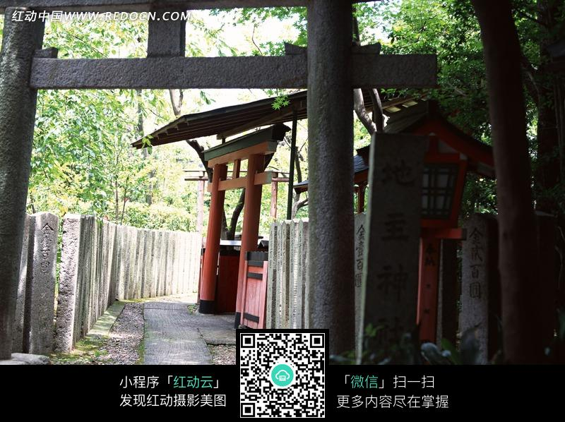 日本地主神社旅游区图片 环境图片|图片库|图库