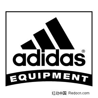 Adidasequipment英文logo设计矢量图 编号 1403889 行业标志 标志 图