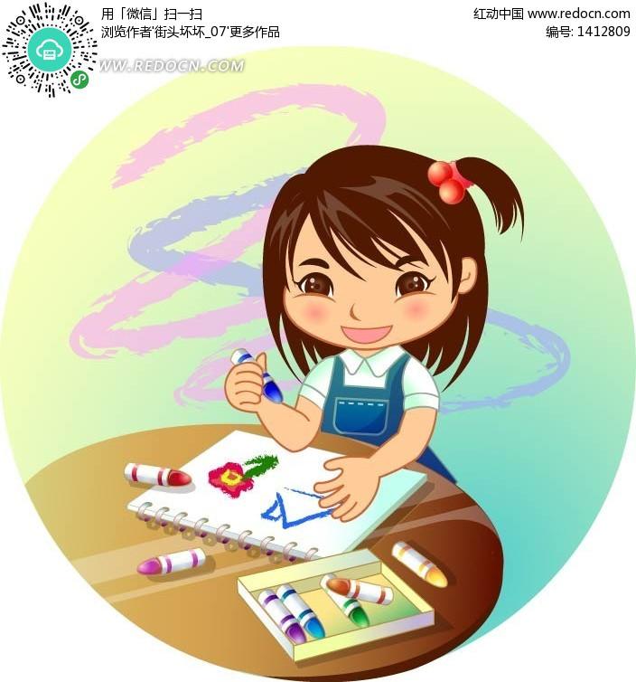 三年级下册美术图画,美术卡通图画,一年级美术作品图画,简易