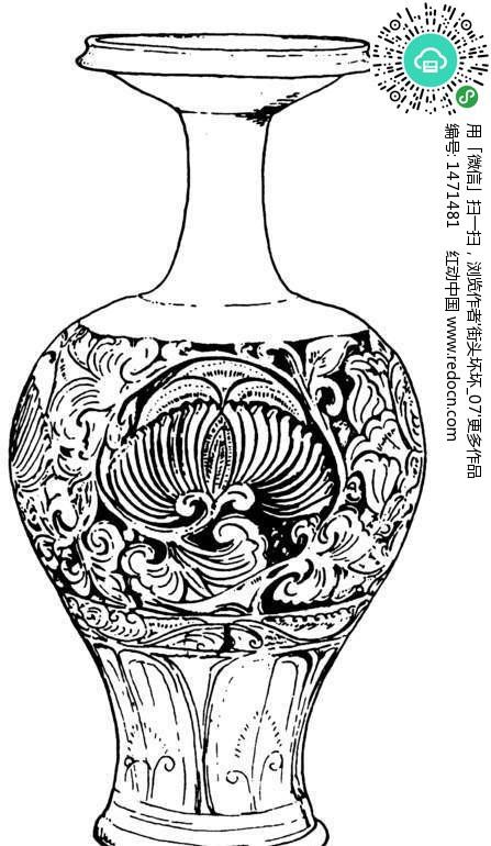 简笔画 花瓶,青花瓷花瓶简笔画,花瓶里的花简笔画,花瓶简笔画图,花瓶的简笔画