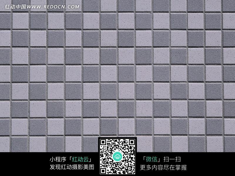 灰色马赛克瓷砖墙壁纹理