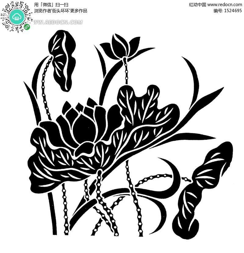 黑白装饰画纹样 简单黑白装饰画图片 黑白线描创意装饰画 黑白装饰画图片