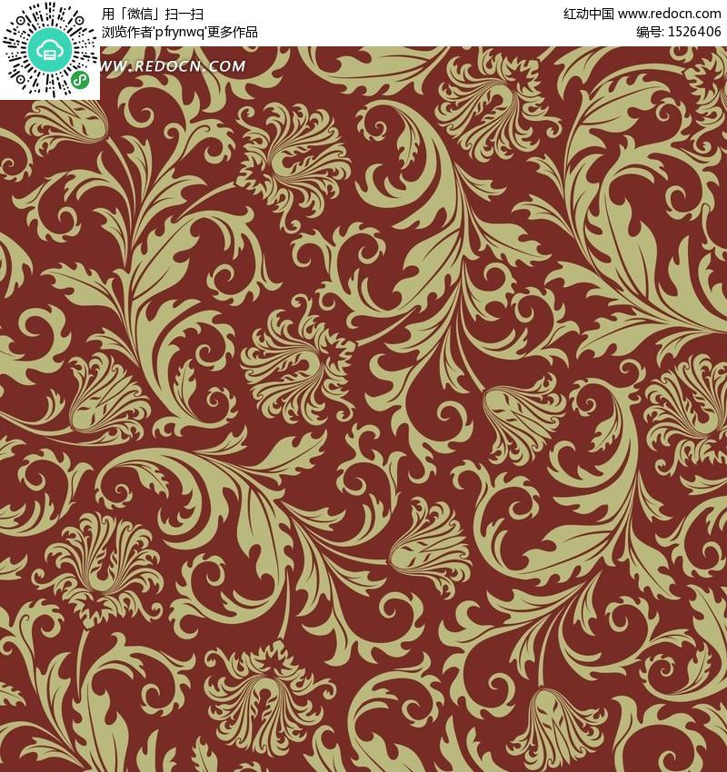 欧式古典花纹平铺6矢量图(编号:1526406)图片
