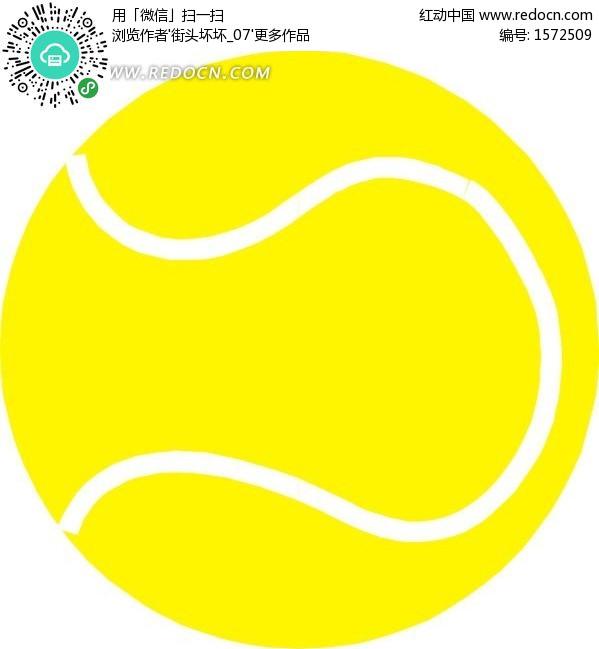 网球_网球场上的网球拍和网球图片编号201818_体