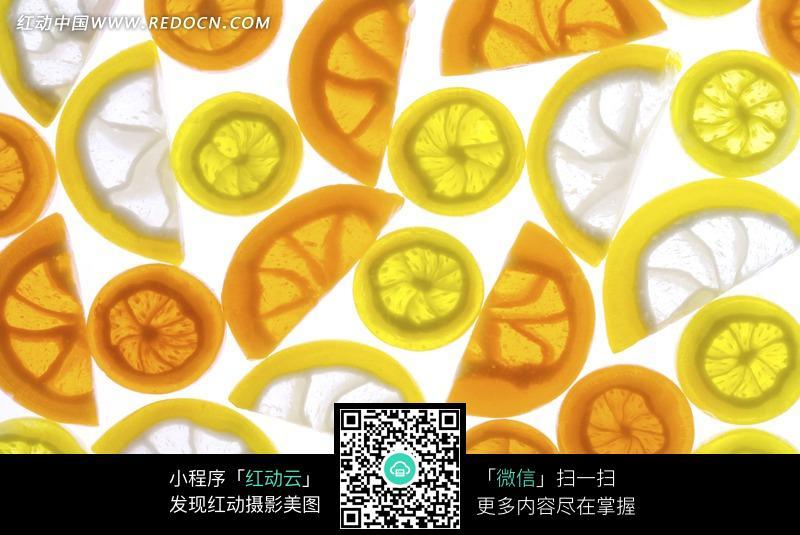 柠檬片卡通头像_多彩柠檬片下厨房