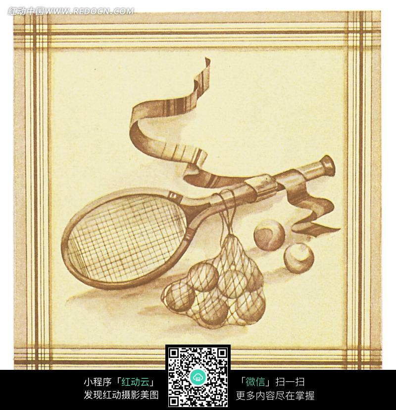 网球素材_