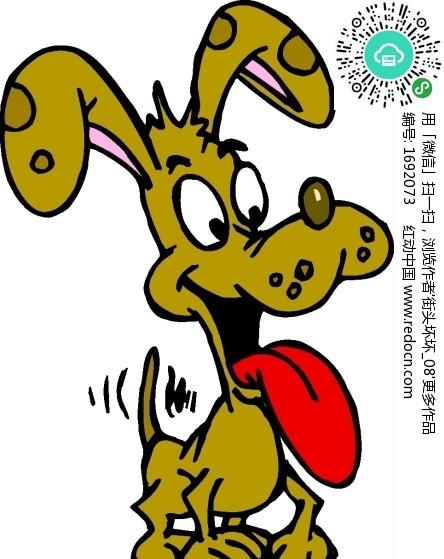 吐舌头图片卡通_